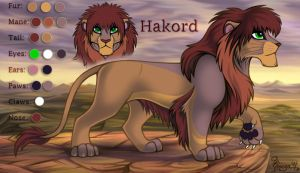 Hakord ref by OmegaLioness