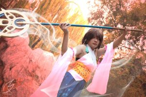 Yuna - Final Fantasy X by springroll97
