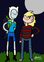 Finn and Marceline Swap by Melc1010