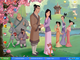 Mulan, Shang, others desktop. by desihbrouillard