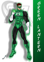 DC Comic's Green Lantern by skywarp-2
