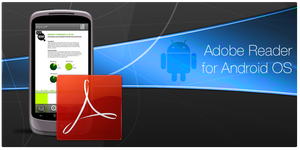 Adobe Reader for Android OS by yankoa