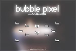 Bubble pixel cursors | Leer Descripcion by FranceEditions
