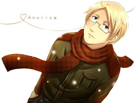 America in the snow by Sukai-yume
