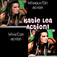 Katie Lea Action by TheRealQueenOfChaos