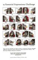 25 basic expressions challenge-The Chamberlain by smeagolisme