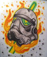 Starwars Storm Trooper by paintball0531