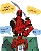 spideypool by Jashinnkyo