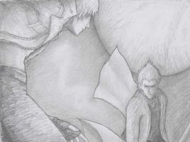 Devil May Cry 3 : Dante versus Vergil by Inspiration-1