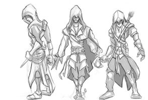 Evolution of Assassins by SINGLETON930