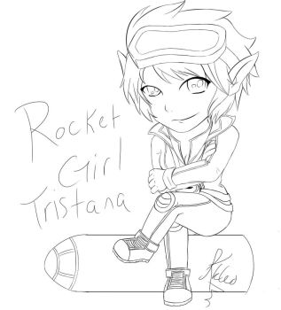 Rocket Girl by Lily5432