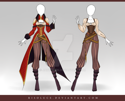 (CLOSED) Adoptable Outfit Auction 113 by Risoluce