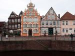 STOCK Old houses by Inilein