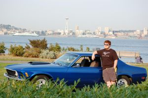Me and My Mustang2 by Bspacewiz2