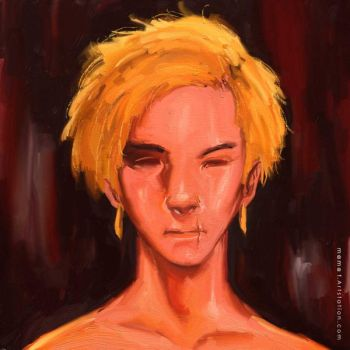 Yellow Hair by mamatrozi