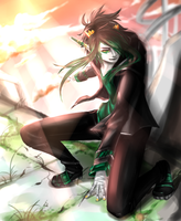 jade under the sun ((commission)) by artisticApparition