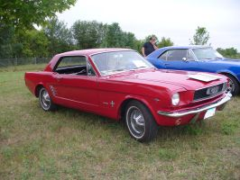 1966  Mustang by 97Dodge-Guy