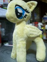 Fluttershy plush, wip update. by PollyRockets