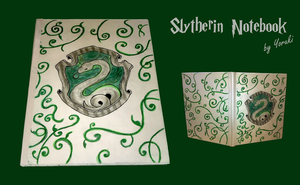Slytherin Notebook by Yoruki8