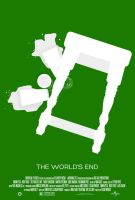 3 Flavors Trilogy: #3 'The World's End' poster by NewRandombell
