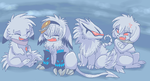 little snow balls by Ash-Dragon-wolf