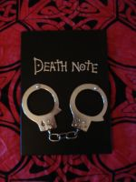 Death Note and handcuffs 1 by Lost-in-Death