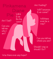 Pinkamena's Bad Apple by BlackandWhiteSoul13