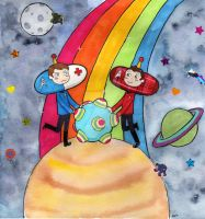 Trade - Scones Katamari by taconaco