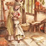 Little Red Riding Hood by Alene