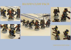 Space Wolf Blood Claws by Anararion