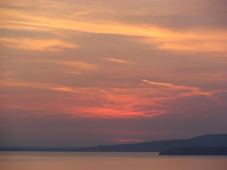 Umbrian Sunset 2 by Rhoehypnol