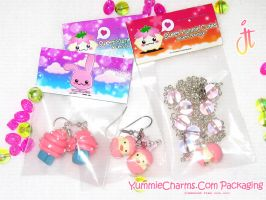 YummieCharms Packaging by xlilbabydragonx