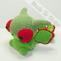 Flygon by Heartstringcrochet