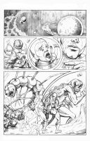 Penciled page by FnkNY