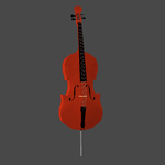 Cello for MMD and XPS by evangelinengelo