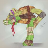 Don and Raph 3 by LinART
