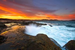 Late Afternoon Swell by LPhotos