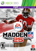 Madden 25 360 Rice cover by chronoxiong