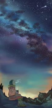 Starry Night (APH Norway) by JazzLassie6020