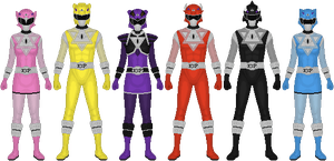 Requested: Power Rangers ESP by Taiko554