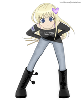 Oh? Another Dumb Blonde Joke? by InoxShikamaru