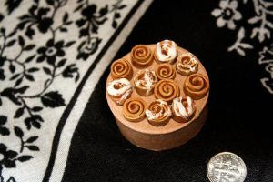 miniature cinnamon rolls by star--crossed
