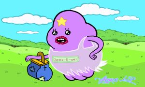 Lumpy Space Princess by bratchny