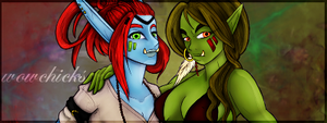 Sexy Wow chiks by Mind-Designer