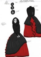 AssassinWitch design a dress contest- Sacrifice by IllyDragonfly