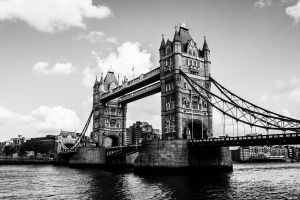 London Tower Bridge by sheiberart