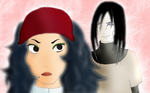 Orochimaru and Circe by 3sennin