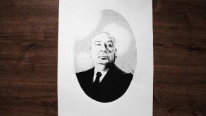 Alfred Hitchcock by DanielPoint