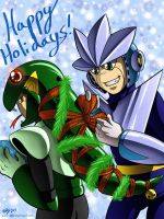 A Very Merry Robot Christmas by digitallyfanged