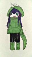 Dino Girl by curry-no-go